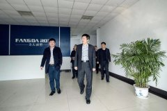 Secretary of the Working Committee and Director of the Management Committee Yu Dong went to some key enterprises in the region to visit and investigate